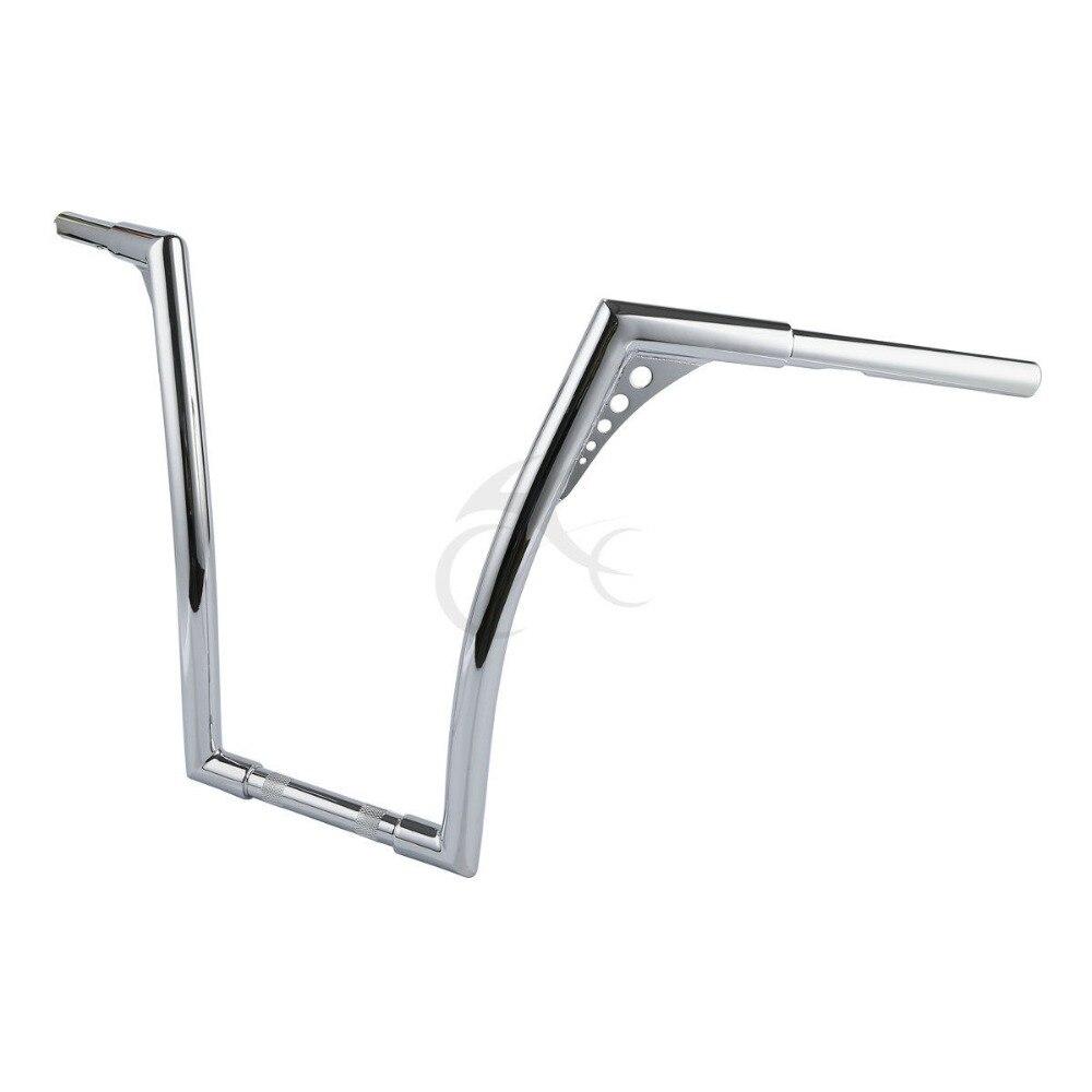 Chrome Fat 1 1 4 18 Rise Ape Hanger Handlebar For Harley Softail Standard FXST