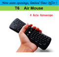 Giroscopio mini Air Mouse teclado T6 Android Control Remoto Para Android Tv Box Mini PC, Kodi Set Top Box Smart TV