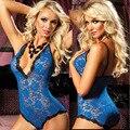 SZ736 mulheres plus size lingerie sexy seios expostos lace erotic lingerie teddy lingerie sexy quente trajes sexy lenceria sexy