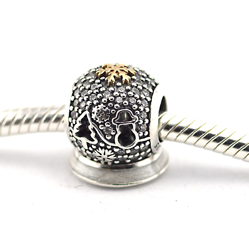 Authentic 925 Sterling Silver Black Friday Charm Beads for Jewelry Making Fits Bracelet European Charms DIY Bracelet Women Gifts