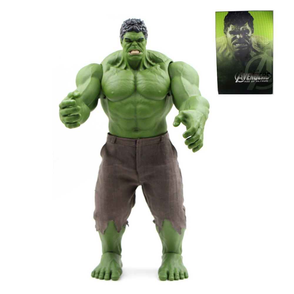 Anime The MOVIE Age of Ultron Hero Super Size 41cm/16 Action Figure Free Shipping фигурка planet of the apes action figure classic gorilla soldier 2 pack 18 см