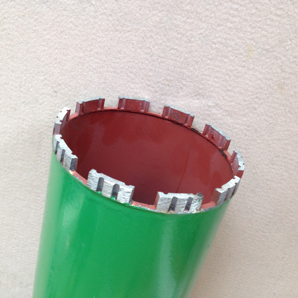Promotion sale Laser welded 132*450*10mm M22 connector diamond Drill bits core bit for drilling on marble/granite/concrete/wall promotion sale laser welded 116 450 10mm m22 connector diamond drill bits core bit for drilling on marble granite concrete wall