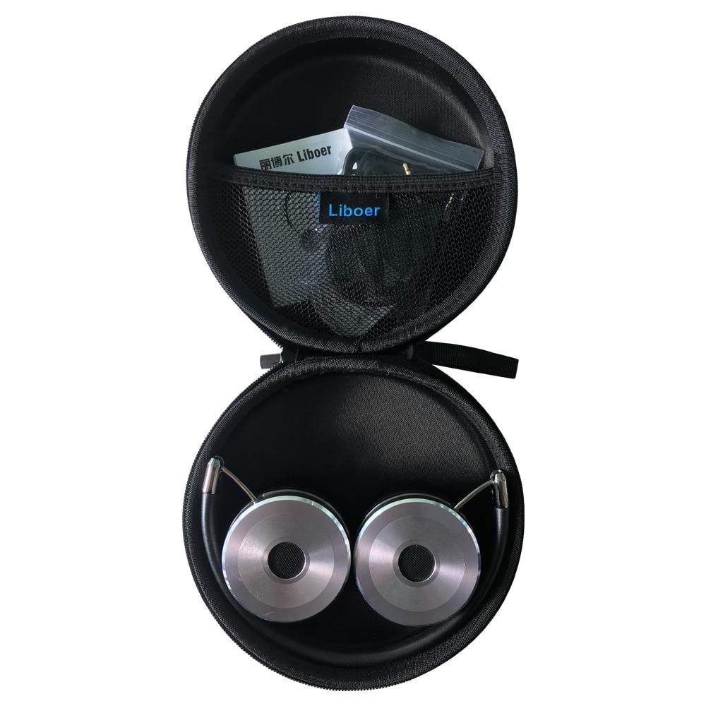 Kufje të ftohta stereo 3.5 mm me kufje Stereo me kufje Stofa lëkure - Audio dhe video portative - Foto 6