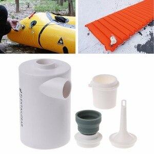 Image 2 - Mini bomba de aire ligera a prueba de agua, carga USB para inflables, inflado rápido