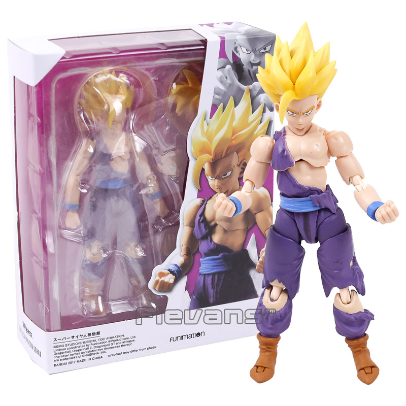 SHF S.H.Figuarts Dragon Ball Z Super Saiyan 2 Son Gohan PVC Action Figure Collectible Model Toy 14cm dragon ball z broli 1 8 scale painted figure super saiyan 3 broli doll pvc action figure collectible model toy 17cm kt3195