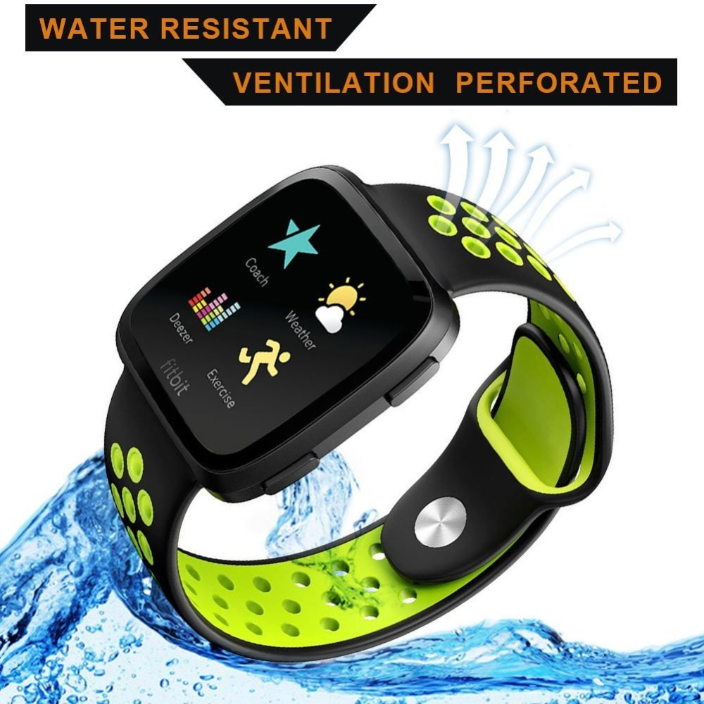 Sport bands For fitbit versa band Sport Silicone wrist strap wristband  Replacement Bracelet watchband belt for fitbit versa band