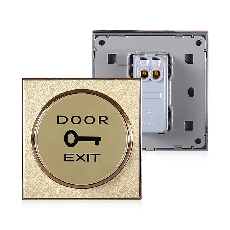 Exit Button Waterproof Door Push Button For Sale Door Button Switch For Access Control Electronic Door Lock Exit Button