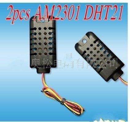 2pcs AM2301 DHT21 Digital Temperature & Humidity Sensor Free shipping