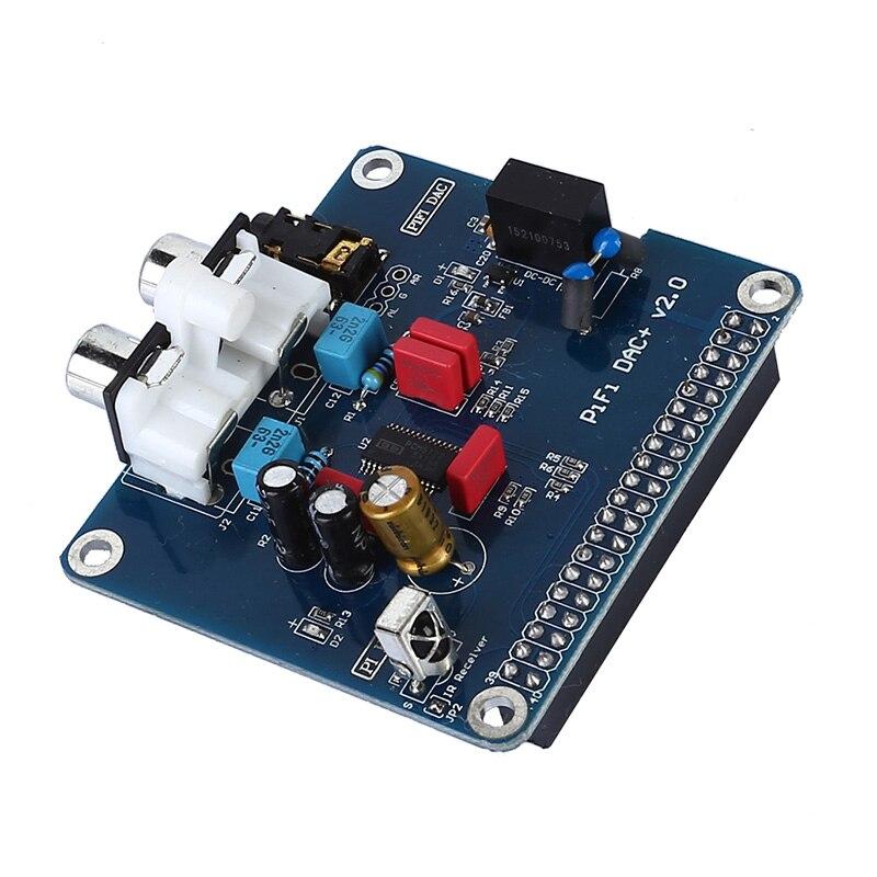 PIFI Digi DAC + HIFI DAC Audio Módulo de tarjeta de sonido I2S interfaz para frambuesa pi 3 2 Modelo B + Digital Pinboard V2.0 tablero SC08
