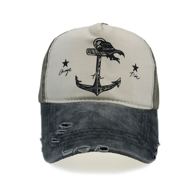 04f350b15d5 Online Shop Vintage Anchor Baseball Cap 5 Panel Hip Hop Snapback Hat ...