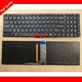 Genuine EUA layout Do Teclado Do Portátil Para MSI GS70 GS60 GT72 GE62 GE72 Série Completa Colorido Retroiluminado sem moldura V143422AK1 UI