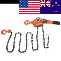 1Set Lifting Hoist Alloy Steel 1.5Ton 10ft Lever Chain Hoist Ratchet Puller Lifting Equipment Car Accessories