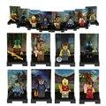 1 Pcs Blocos de Jogador de Futebol Teddy Polícia Pouco Meninas Prisioneiro Caminhada Mortos Blocos de Construção Tijolos de Brinquedo Crianças Presentes Novos 2016