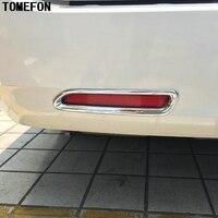 Voor Toyota Sienna Derde GE 2010-2016 ABS Chrome Achter Bottom mistlamp Lamp Shades Staart FogLight Cover Trim 2 STKS