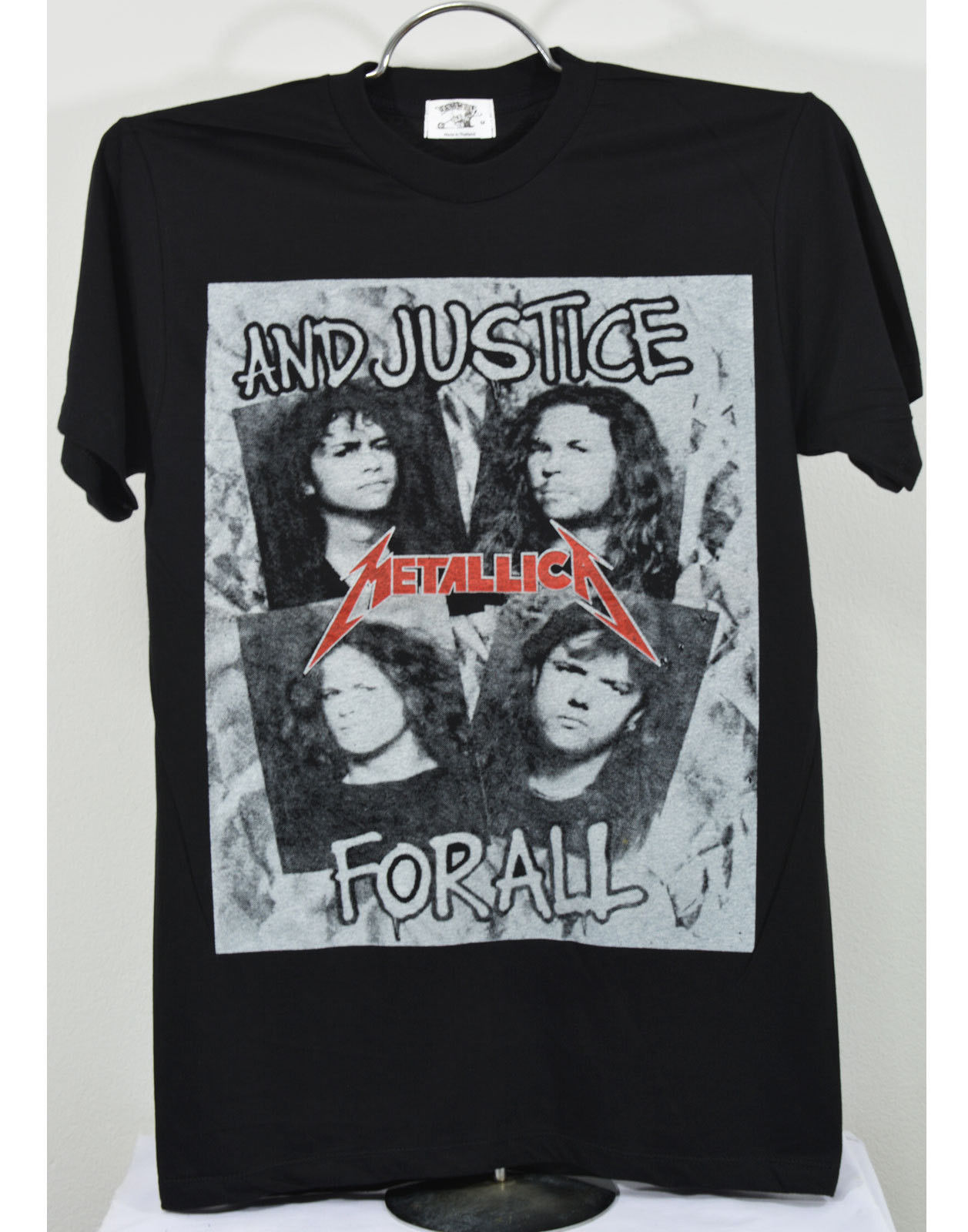 6462f49467 US $14.99 |Metallica And Justice For All T Shirt Metal rock band Summer  Short Sleeves Fashion-in T-Shirts from Men's Clothing on Aliexpress.com |  ...