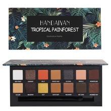 HANDAIYAN TROPICAL PAINFOREST&RENAISSANCE Eyeshadow Palette 14 color eyeshadow pearl matte big eye shadow makeup plate