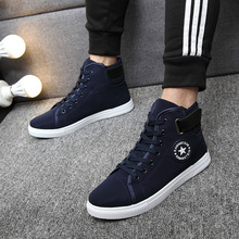 YWEEN Men's Vulcanize Shoes Men Spring Autumn Top Fashion Sneakers Lace-up High Style Solid Colors Man Shoes