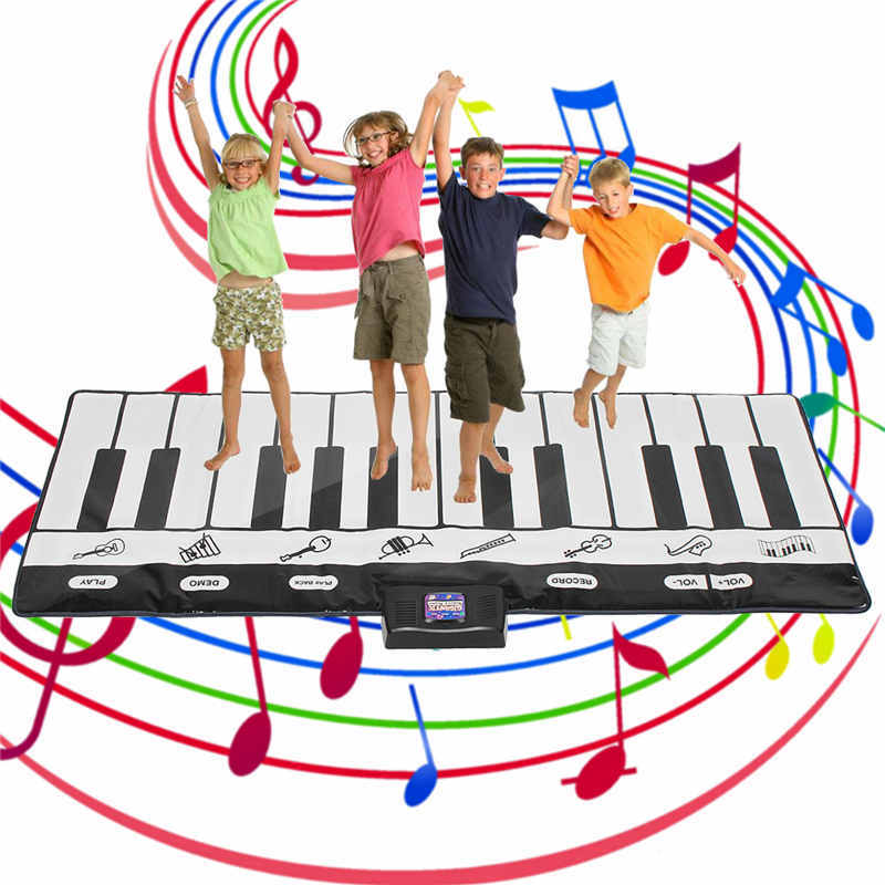 Play Floor Piano Kid Stepping Toys Electronic Music Keyboard Giant Mat Dance Exercise Mat Sport Toys For Kids Children
