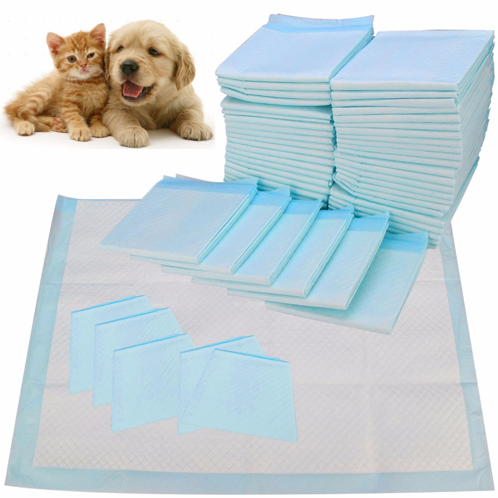 LARGE PUPPY TRAINING PADS TOILET PEE WEE MATS PET DOG CAT 4Sizes ...