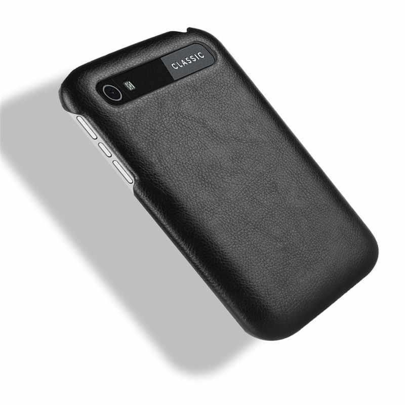 Pour BlackBerry Classic Q20 coque de téléphone couverture Arrière Pour BlackBerry Q20 SQC100-3 SQC100-1 En Cuir PU Rétro coque de téléphone sac