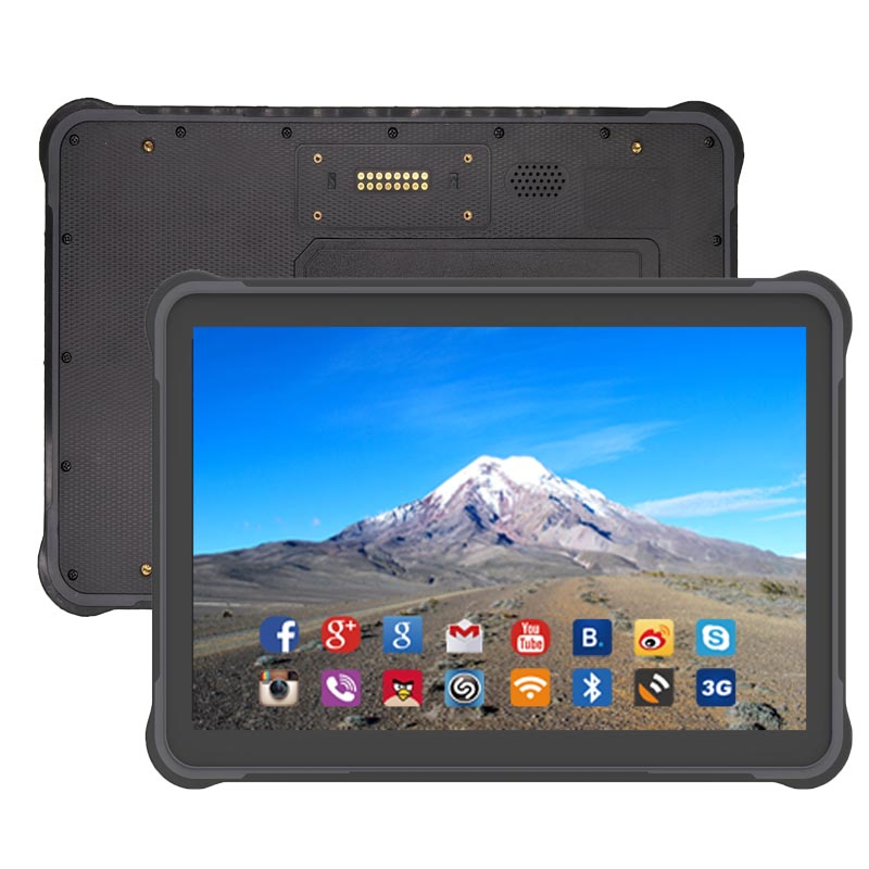 Image 3 - 10.1 inch Rugged Tablet Android 7.0 RJ45 Port Hot swappable battery Rugged Tablet PC ST11-in Industrial Computer & Accessories from Computer & Office