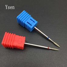 1PC Diamond F Size Bur Nail Drill Bit Electric Mills Nail Cutter Manicure Machine Polishing For Nail And Pedicure