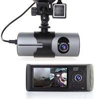 Car DVR Dual Camera Gravity Sensor Gps Tracker Support Google Maps on Review 2.7 1080P LCD Screen Car HD Video Recorder