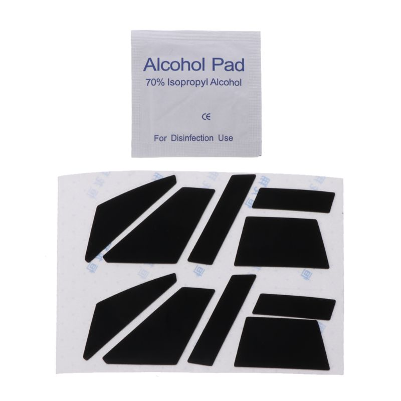 2 Sets 0.6mm Teflon Mouse Skates Muis Sticker Pad Voor Corsair M65 Pro Rgb/voor Corsair Vengeance M95 M90 Muis Hooggeprezen En Gewaardeerd Worden Door Het Consumerende Publiek