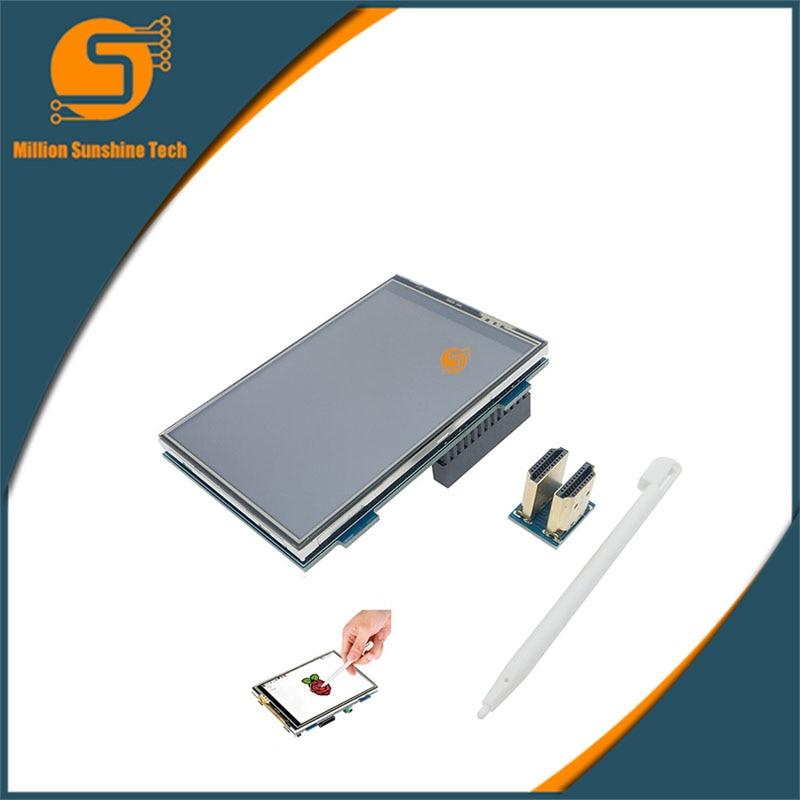 Free shipping MPI3508 3.5 Inch TFT HDMI LCD Moudle For Raspberry Pi 2 Model B & RPI B+ raspberry pi 3 4 inch touch screen tft lcd designed for raspberry pi 2 rpi model b b