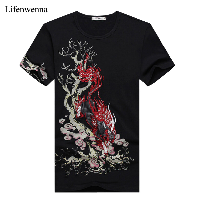 2017 chinese style summer mens short sleeve t shirt new T shirt printing china