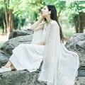 Envío libre de las mujeres de moda de invierno cálido bufanda de Encaje suave Llanura de Algodón Mujeres Bufandas Chales Bufanda Larga Damas presentes