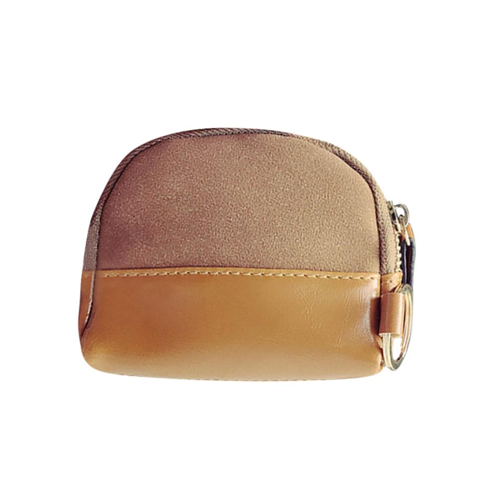 2018 New Fashion Coin Purse Girls Purse Coin Wallet Women Patchwork Clutches Wallet Cardbag Tote Ladies Purse Zipper Bag