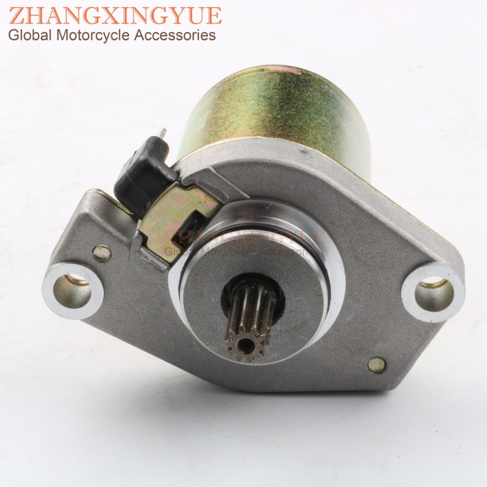 2 Stroke 10Tooth Starter Motor 50cc for JOG Minarelli 1PE40QMB Engines Moped Scooter-in Motorcycle Motor from Automobiles & Motorcycles    1