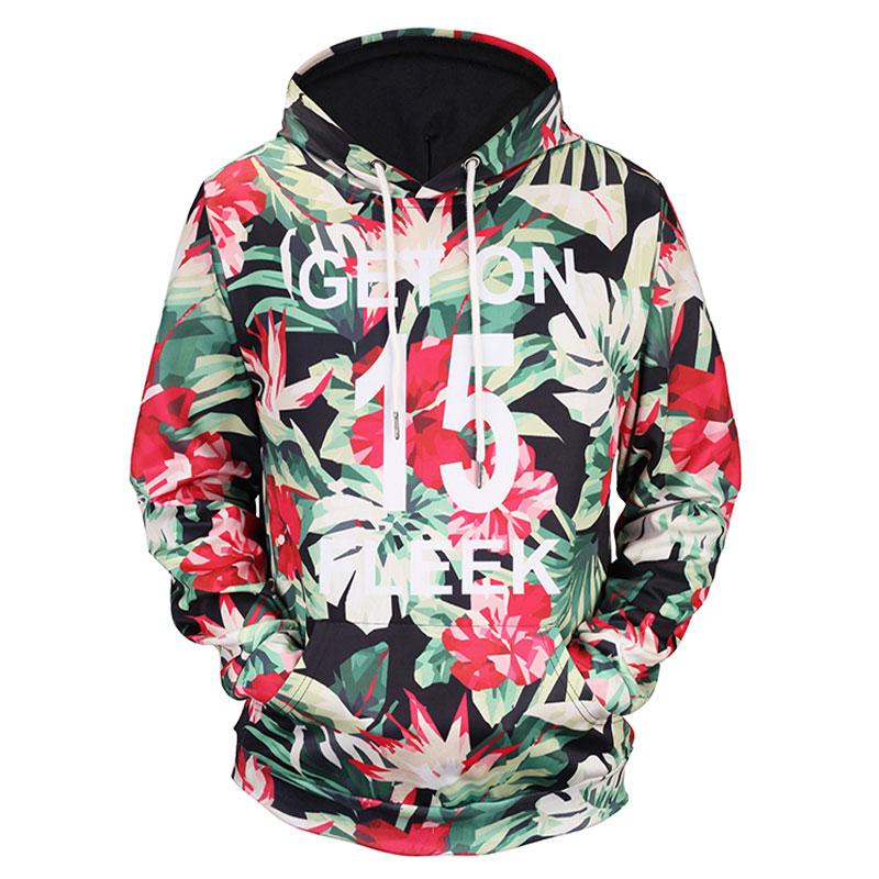Headbook New Fashion Women/Men Hoodies Print Flowers 3d Sweatshirts Hoody Thin Hooded Graphic Hoodies Pullover Tops 17090209