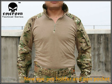 Emerson bdu G3 Combat uniform shirt & Pants & knee pads Military Army uniform MultiCam shirt military uniform