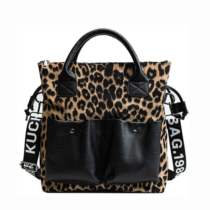 Toposhine, леопардовые женские сумки, новые модные женские сумки через плечо, леопардовые Популярные Двойные пакеты, женские сумки-мессенджеры для женщин
