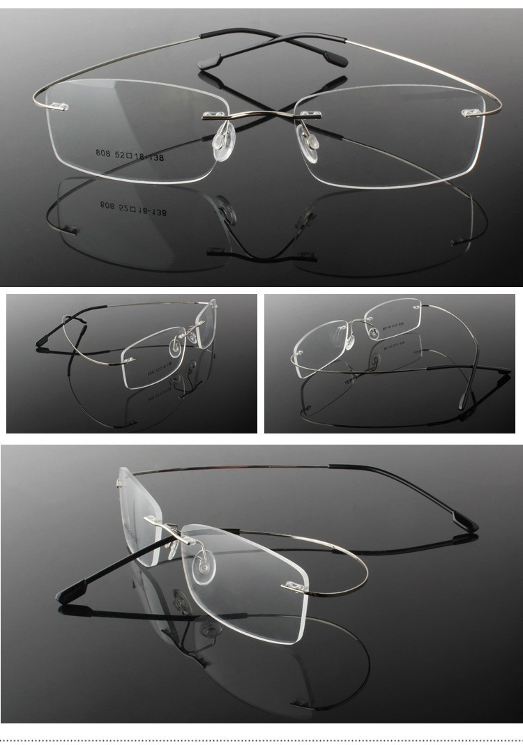 rimless optical glasses (18)