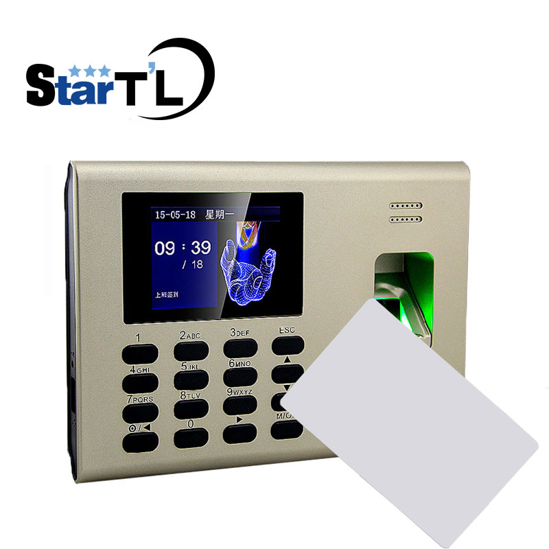 ZK K40 MF 13.56 Reader Punch Card and Fingerprint Time Attendance Fingerprint Time Clock For employer attendance System high speed zk fingerprint time attendance terminal iclock360 125khz em id card punch card and fingerprint time clock system