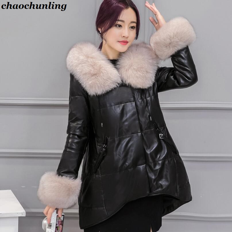 2017 New Autumn And Winter England Style Lady Thick Jacket High Quality Women Leather Super Waterproof and Warm Fashion Coats lady thick jacket 2017 new autumn and winter england style high quality women leather100