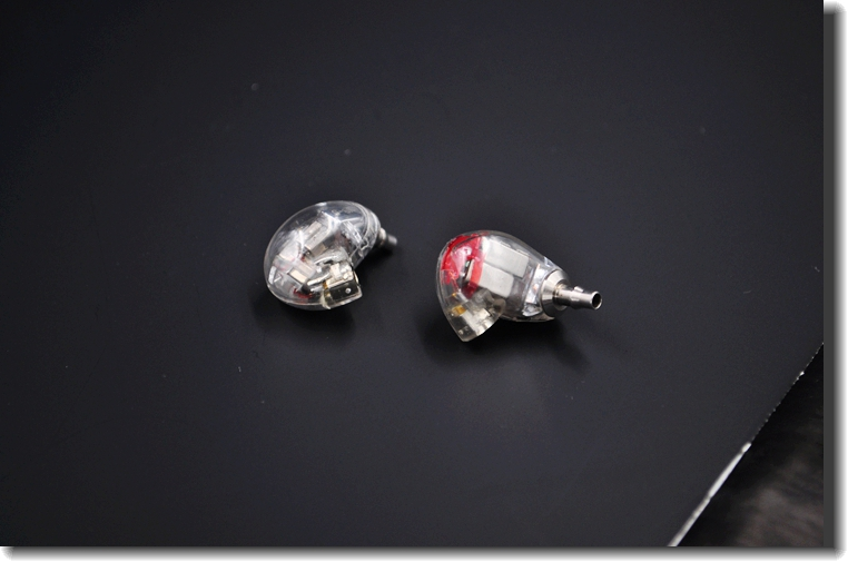 2016 Clear Color DIY 846 6Units 6 Balanced Armature Earphone DIY Headset Custom Made Around Ear Earphone