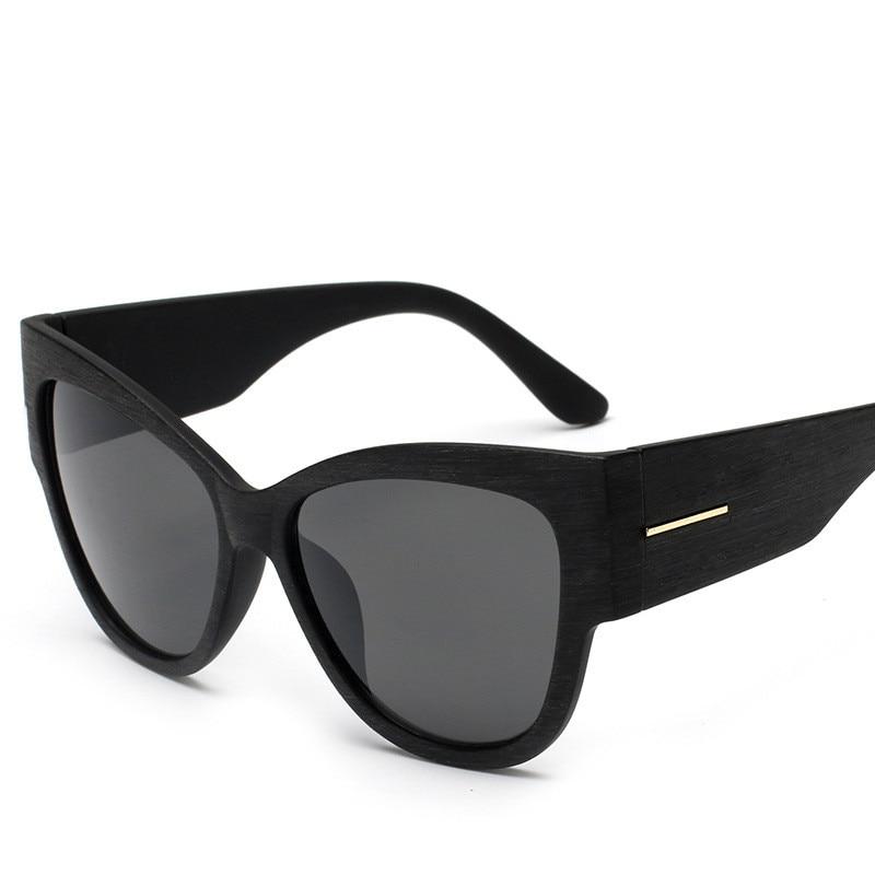 Eyewear 2018 New Women Cat Eye Sunglasses Googles Sun Glasses Full Black Frame Oculos De Sol UV400 Brand Deisgn Eyeglasses YJ675