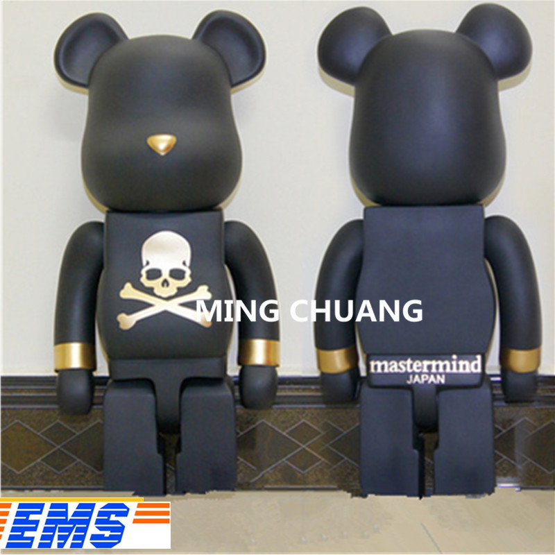 Bearbrick Gloomy BB Kaws 1000% Be@rbrick BRIAN Street Art Birthday Gift Vinyl Action Figure Collectible Model Toy 70CM BOX Z36 new arrival be rbrick bear bearbrick pvc action figure toy 52cm vinyl art figure as a gift for boyfriends