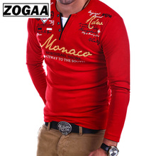 ZOGAA 2018 New Fashion Men T shirt Long sleeve Slim Solid Color T-shirt Striped Fold Raglan Sleeve men casual T shirts Tops Tees lace trim raglan sleeve t shirt