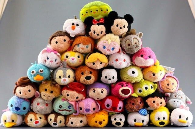 Tsum Tsum Mini Plush Toy Doll Inside Out Baymax Mickey