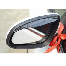 free shipping car rearview rain shield eyebrow for hyundai i10 accent i20 i30 elantra i40 sonata azera tucson creta ix25 solaris