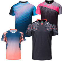 New Badminton shirts Men , sport shirt Tennis shirts Male , table tennis tshirt , Quick dry Fitness sports training tshirts(China)