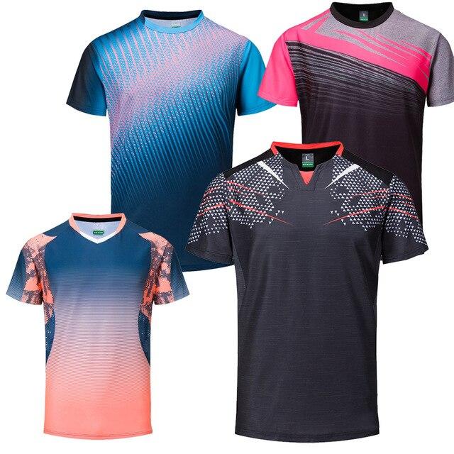 873fe897fe338 Nova Badminton camisas Dos Homens