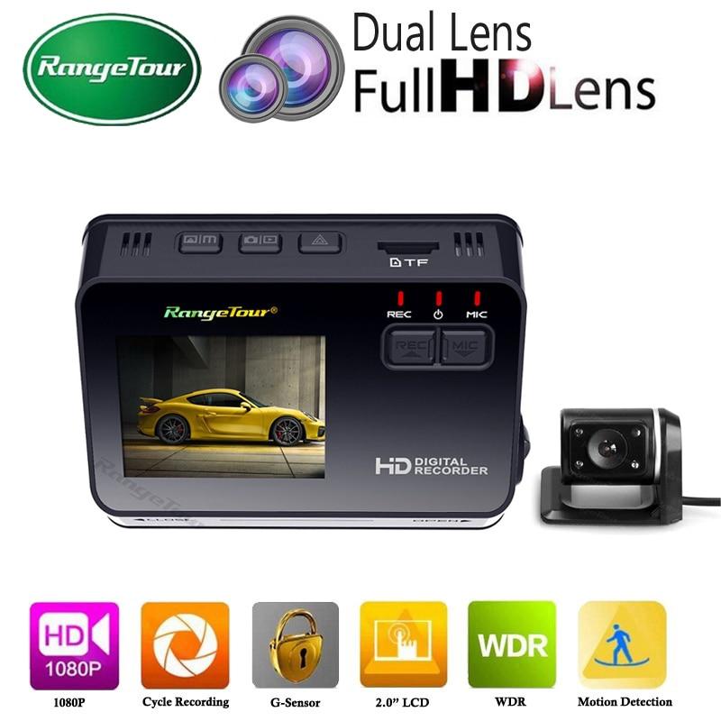 Dual Lens Mini Hidden Car DVR Vehicle Camera B10 Plus Auto Dash Cam Full HD 1080p
