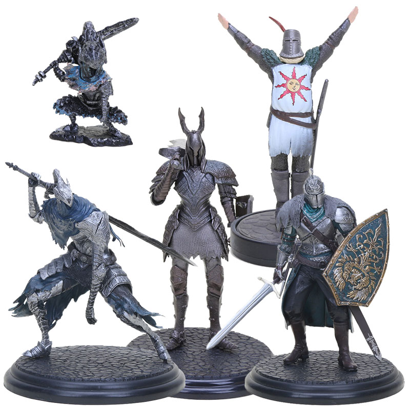 Game DXF Dark Souls Faraam Knight Figure Artorias The Abysswalker Dark Souls PVC Action Figures Collectible Model Toy Dolls