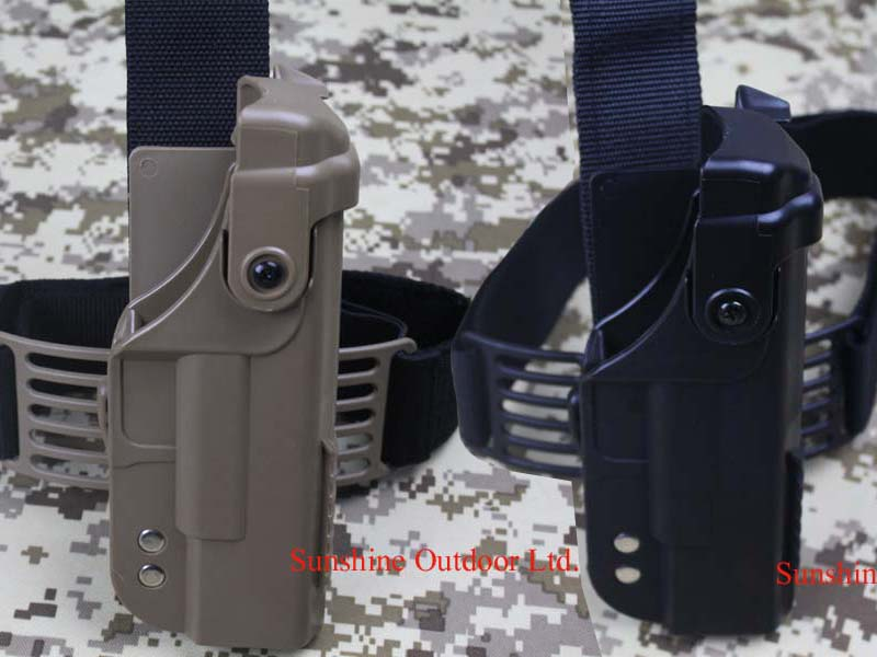 Tactical GLOCK Holster with Top Rail leg Holster for GLOCK G17 Free Shipping